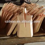 FLAT SPADE SHOVEL WOODEN HANDLE COPPER BERYLLIUM BRASS EDGE BLADE