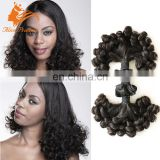 Double Drawn Fumi Weave Hair 100 Percent Brazlian Hair Wholesale Price From Qingdao Hair Factory