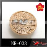 NR038 new metal round jeans button