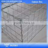 SuoBo Hot Sale Hesco Barrier Gabion Box Prices, Gabion Box Stone Cage