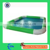 Green and white color China infatable pools, wholesale water ball pool, air tight swimming pool for water game