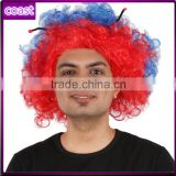 cheap short new type play synthetic afro wigs with tentacle for kids