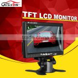120 Degree Swivel 7inch Color TFT LCD Digital Player Monitor 800x480 Reversing Rear Monitor