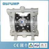 QBY double action balls diaphragm min pumps