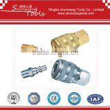 Aro Tpye One Touch Brass 1/4'' Body NPT air quick coupling kit pipe fitting su03-k1