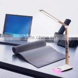 Aluminum alloy 5-grade brightness adjustable by the touch dimmer Office Led table/desk lamp