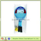 Promotional plastic Net Beach or Yard Tennis Rackets Set with ball-CP1009