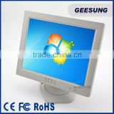 CARAV white lcd monitor usb touch monitor 12 inch touch screen monitor                                                                                                         Supplier's Choice