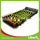 Best Choice Wholesale Children Play Center Rectangle Trampoline with Safety Certificate                                                                         Quality Choice