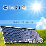 Best Quality Vacuum Tube Heat Pipe Solar Collector With Reflector Panel