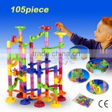 Deluxe Marble Race Marble Run Play Set Game 105 Pcs Kids Toys Promotes Dexterity