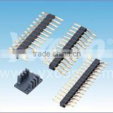 Dongguan factory 2.0mm pitch single layer single row horizontal SMT pin header connector