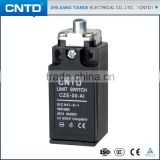 CNTD Brand Plastic Shell Steel Plunger Switch Limit with Selective Actuartors (CZE-00-AI)