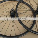 "13.07303 mountain bike carbon wheels 26"" ruote in carbonio 25mm depth"