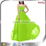 off shoulder lime green wedding dresses beaded new design bulk wholesale maxi dresses from thailand