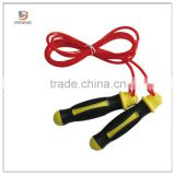 Fitness PVC Ropes Plastic Bearing Handle Fast Sports Jump Rope