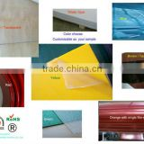 green recyceled material pet gag petg plastic sheets for thermoforming letter sign factory since 2000 certificated by SGS
