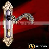 304 stainless steelEuropean locks interior bedroom door when the hand lock locks wood door lock
