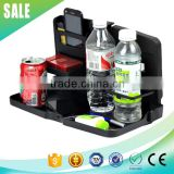Hot sale multi purpose car food tray, plastic food tray, folding car tray