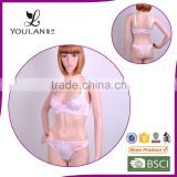 Factory Price Transparent Sexy Fancy Bra Panty Set And Bra Set Underwear