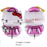 2016 Hot sale cartoon balloon helloo kitty foil balloons birthday party decoration balloon
