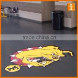 Custom Good Quality Full Colour Print Anti Slip Scratch Resistant Anti Safty Pavement Signs