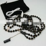 Uneed beaded necklaces headphones,work withsmartphone,very cheap price