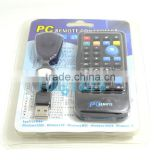 IR Wireless Controller PC Computer Remote Control USB Media Center fly Mouse & USB Receiver For Windows 7 XP VISTA
