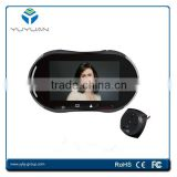 GSM MMS monitor & control ,Night vision function,video message leaving,5.0 Inch Screen Door Bell Danmini YB-50BG