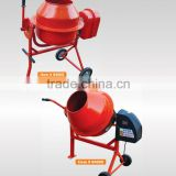 65 liter capacity small garden concrete mixer with metal tray
