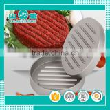 Amazon hot sales hamburger patty maker hamburger press Filling Round Shaper Mold Aluminum Alloy Beef Meat                                                                         Quality Choice