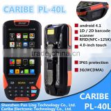 CARIBE PL-40L Ab054 Handheld rugged pocket PDA with GPRS/GPS/3G/WIFI/RFID reader/Barcode scanner