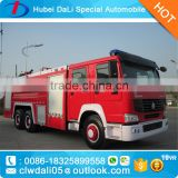 Water 10000L Foam 3000L Dongfeng 6*4 Water and foam fire truck for sale