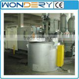 stationary (zinc, tin, lead) aluminum scrap crucible resistance melting furnace