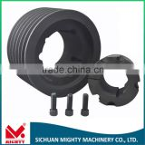 V-Belt Type and Grey Cast Iron elevator pulley