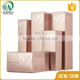 Cosmetic set packing rectangle recyclable superior facial cleanser paper box decorative gift boxes wholesale                                                                                                         Supplier's Choice
