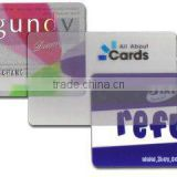 ECO-friendly plastic card printing