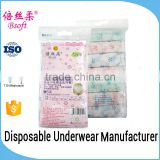 Ladies' Disposable Paper Panties with Printing for Days of The Menstrual Cycle,Hospitals,Pregnancy,Travel                                                                                                         Supplier's Choice