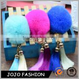 Colorful Pompon Keychain Phone Pendant fur Keychain
