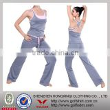 88% Polyester 12% Lycra Ladies Yoga Wear Gym Suit