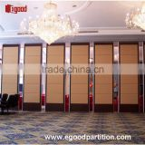 star hotel luxury type fabric sliding panel acoustic wall movable partition