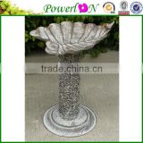 Wholesale High Quality Wrough Iron Bird Freeder Plant Stand Garden Ornament For Patio Backyard I28M TS05 X00 PL08-6133