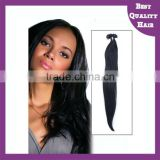 Wholesale hight quality Keratin full cuticle pre-bonded i/stick tip human hair extensions for black women