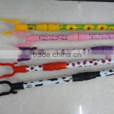Hot Sale PVC Cover Cloth Hanger Fork Telescopic Iron Metal Pipe Plastic Fork