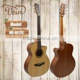 "40"" solid spruce top acoustic guitar OEM factory"