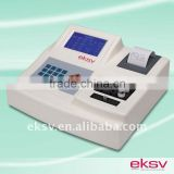 analyzing blood test results