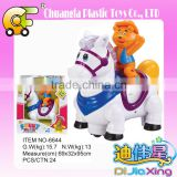 Chuangfa toys--BO bump & go palstic horse with light & music, Electric horse toys, bo knight toys