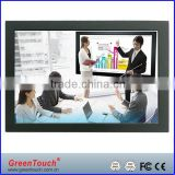 GreenTouch 18.5 inch Open Frame industrial LCD Monitor VGA/DVI interface, Ultra Slim Touch Open Frame Monitor