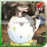 Theme park and Kids playground toys animatronic dinosaur egg for sale