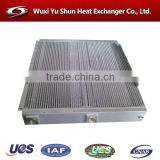 Hot selling OEM custom made aluminum plate fin oil/water cooler for engineering machinery